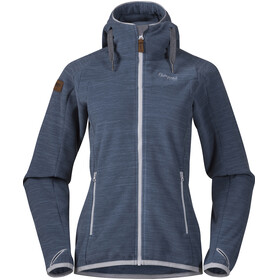 Bergans W's Hareid Fleece Jacket Fogblue Melange